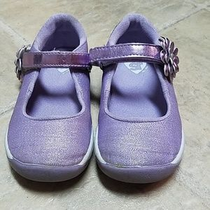 Stride Rite Purple Mary Jane shoes